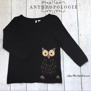 Anthropologie {Moth} owl sweater